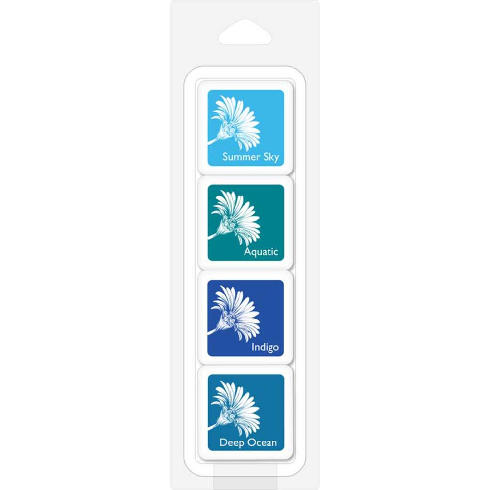 Hero Arts Bold Ink Cubes: Tropical Waters
