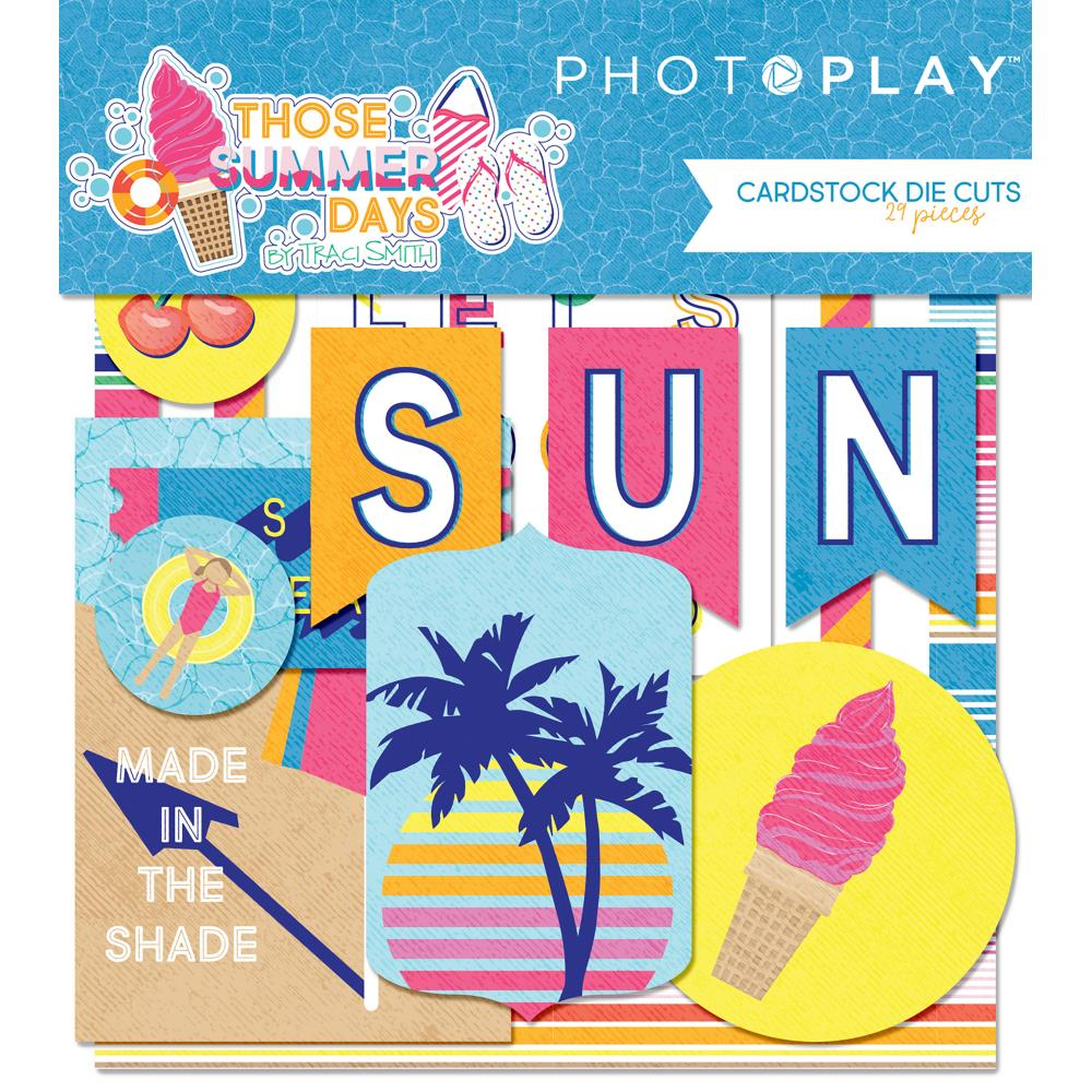 Photo Play Cardstock Die Cuts: Those Summer Days