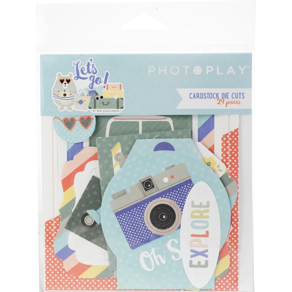 Photo Play Cardstock Die Cuts: Let's Go!