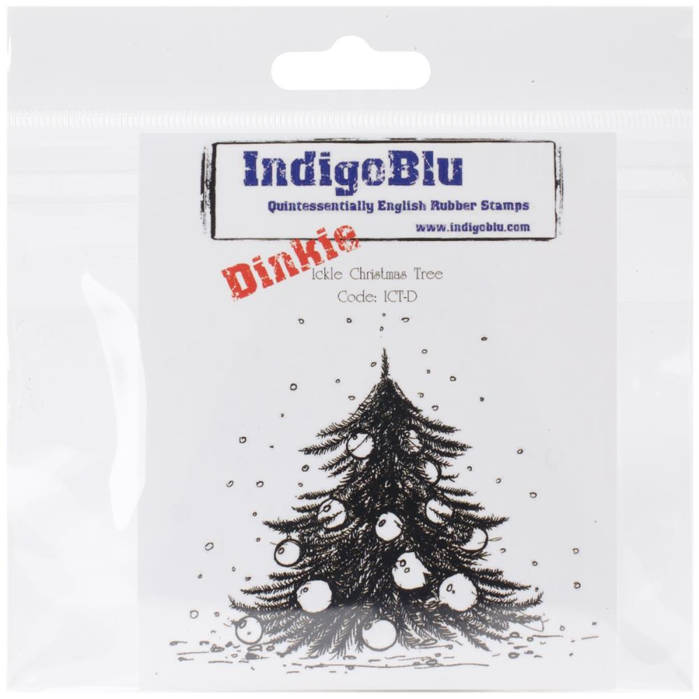 IndigoBlu Stamps: Ickle Christmas Tree