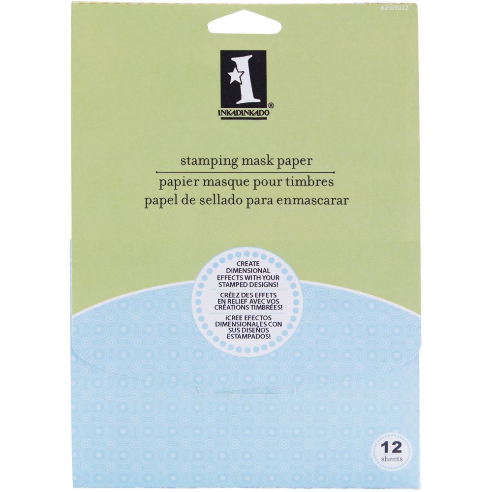 Inkadinkadoo Stamping Masking Paper