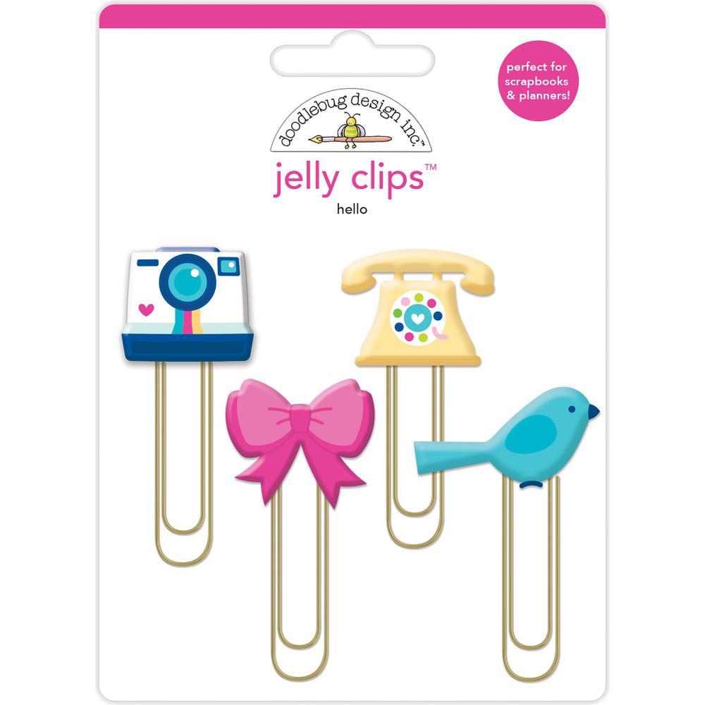Doodlebug Design Jelly Clips: Hello