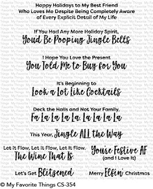 My Favorite Things Clear Stamps Sassy Pants Holidays