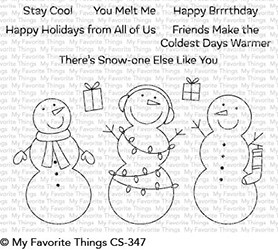 My Favorite Things Clear Stamps Frosty Friends