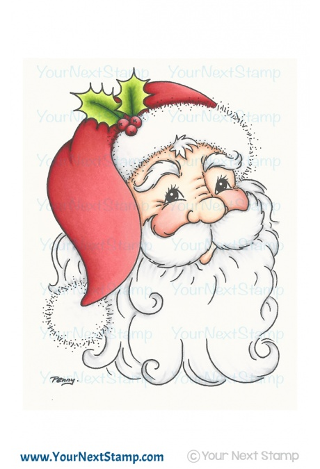 Your Next Stamp Clear Stamp Set: Jolly Santa