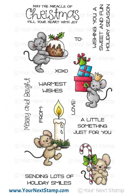 Your Next Stamp Clear Stamp Set: Sweet and Fun Holiday