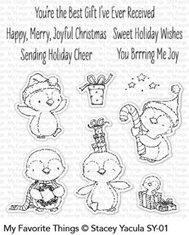 My Favorite Things Clear Stamps Sweet Holiday Penguins