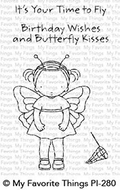 My Favorite Things Clear Stamps: Butterfly Kisses