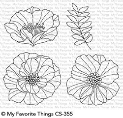 My Favorite Things Clear Stamps: Brilliant Blooms