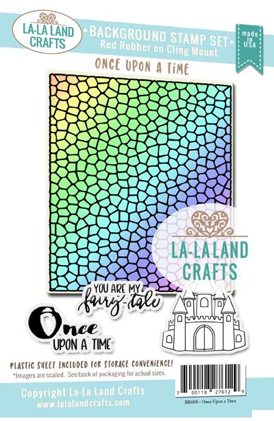 La-La Land Crafts Background Stamp Set Once Upon A Time