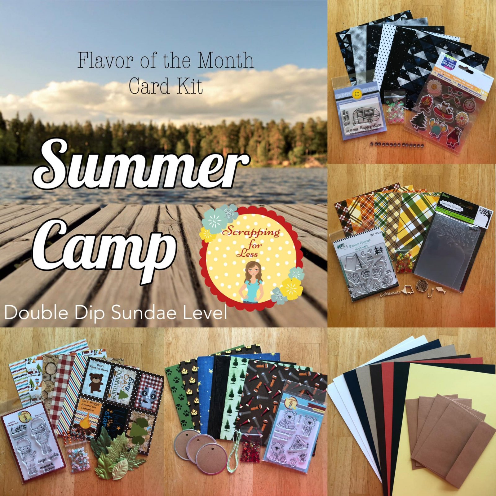 July 2019 Double Dip Flavor of the Month Summer Camp