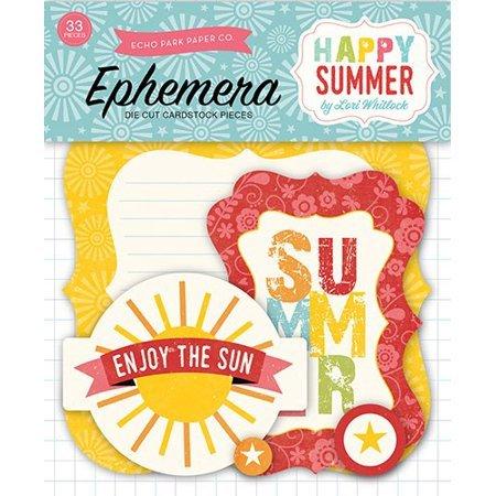 Echo Park Happy Summer Ephemera