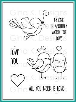 Gina K Designs All You Need is Love