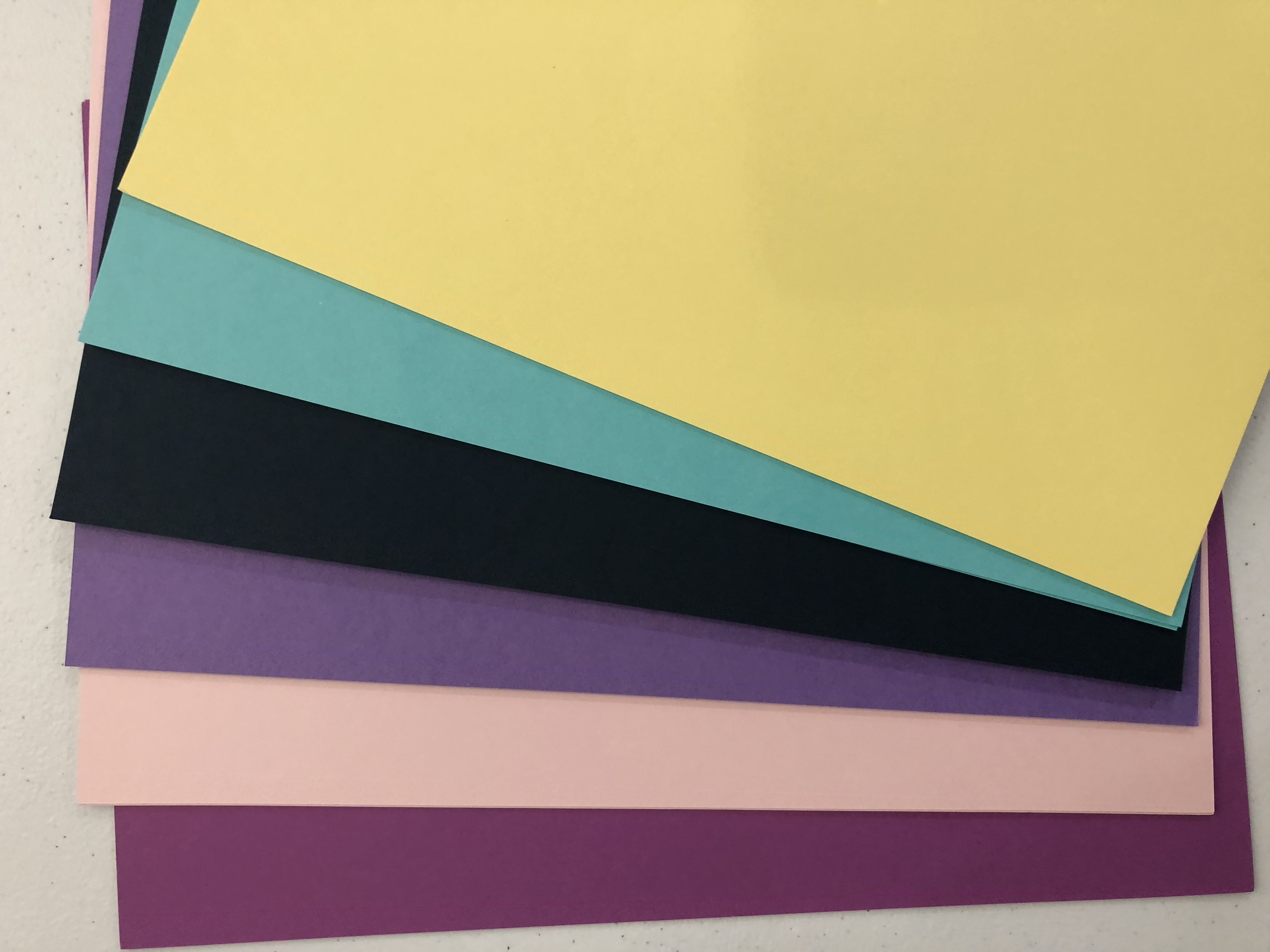 It's All About the Girls Cardstock Colors