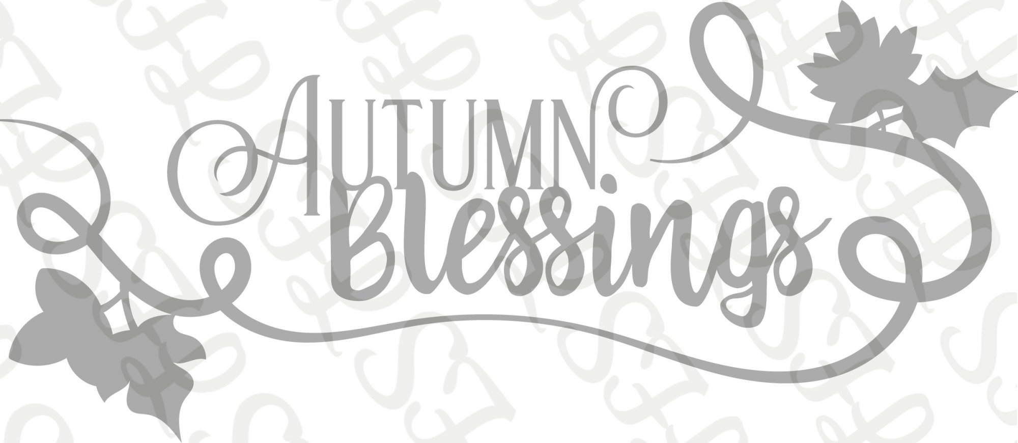 Scrapping for Less Die  Autumn Blessings