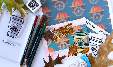 Brutus Monroe Clear Stamps 2x3 Got Pumpkin?