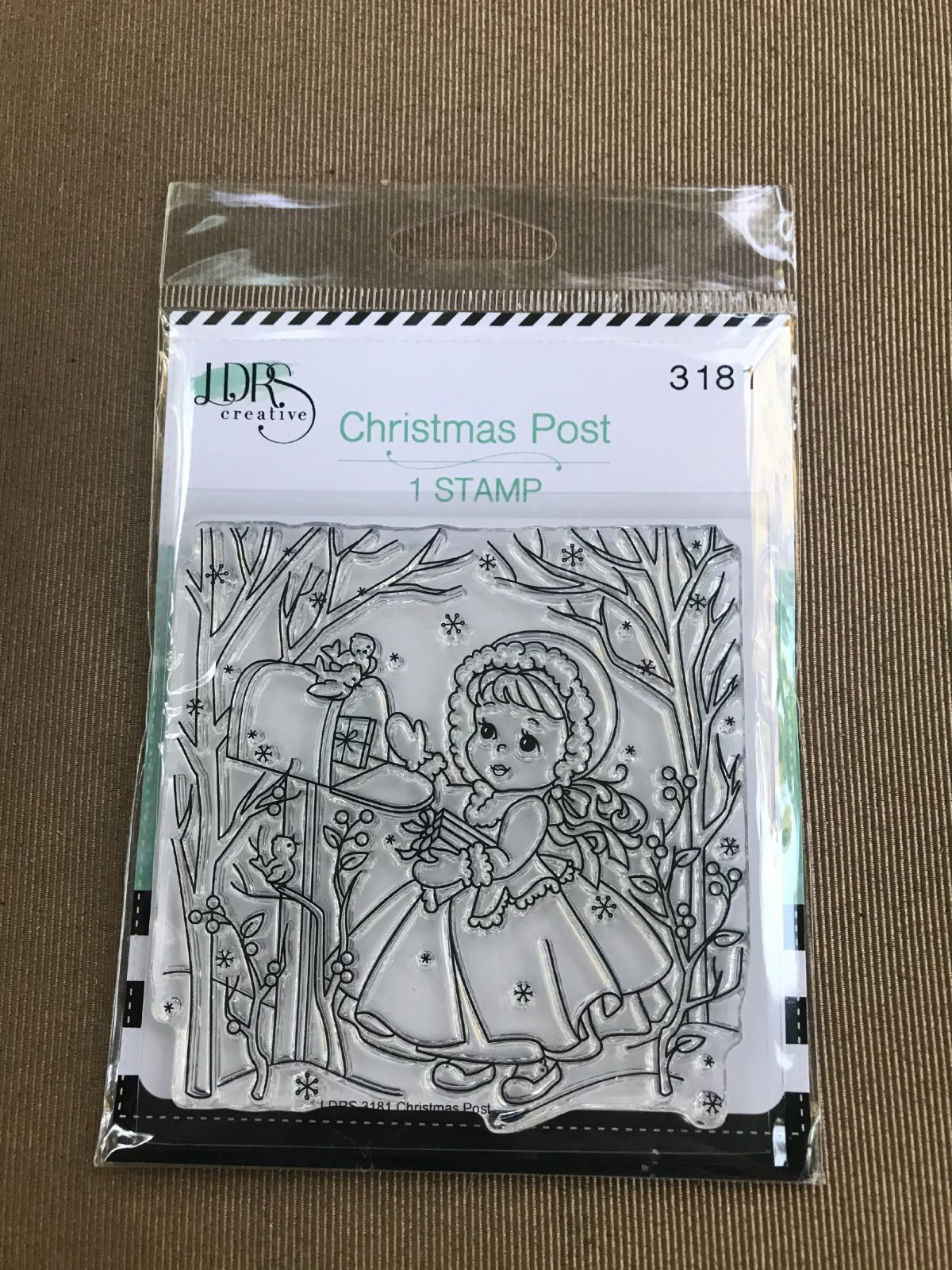 LDRS Creative Clear Stamp Christmas Post