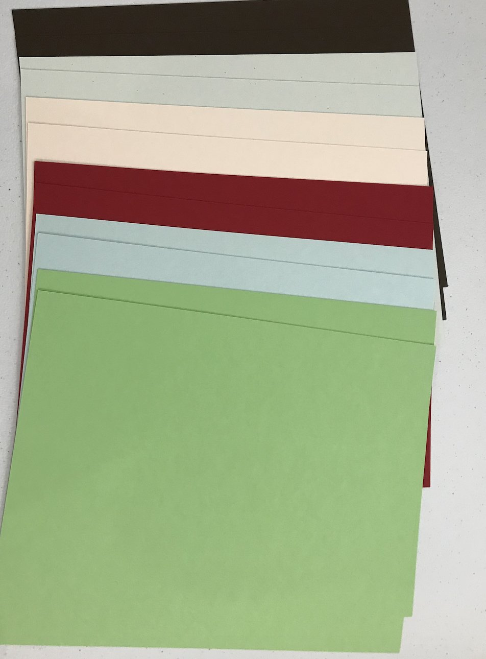 City Streets and Country Roads Cardstock Package