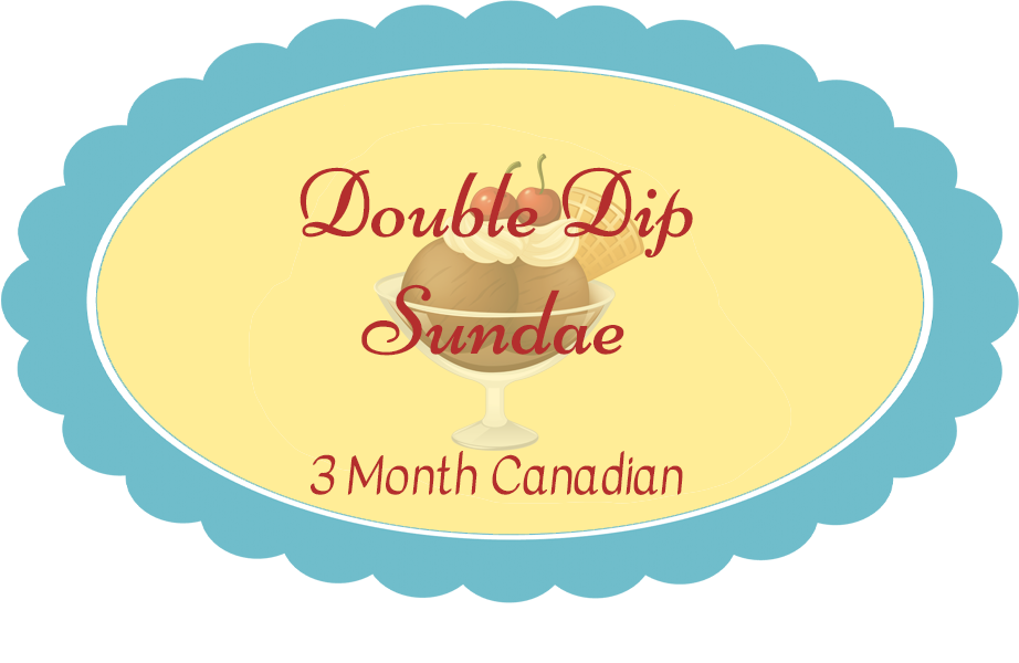 Double Dip Subscription - Billed Every 3 Months (Pay for all 3 months at once) Shipping included in price. Canadian
