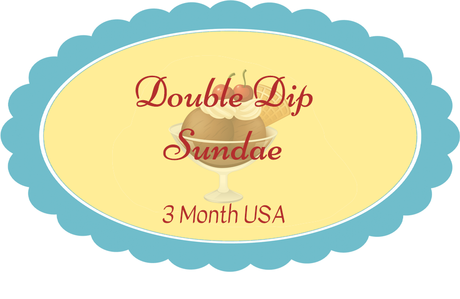 Double Dip Subscription - Billed Every 3 Months (Pay for all 3 months at once) Shipping included in price. USA ONLY