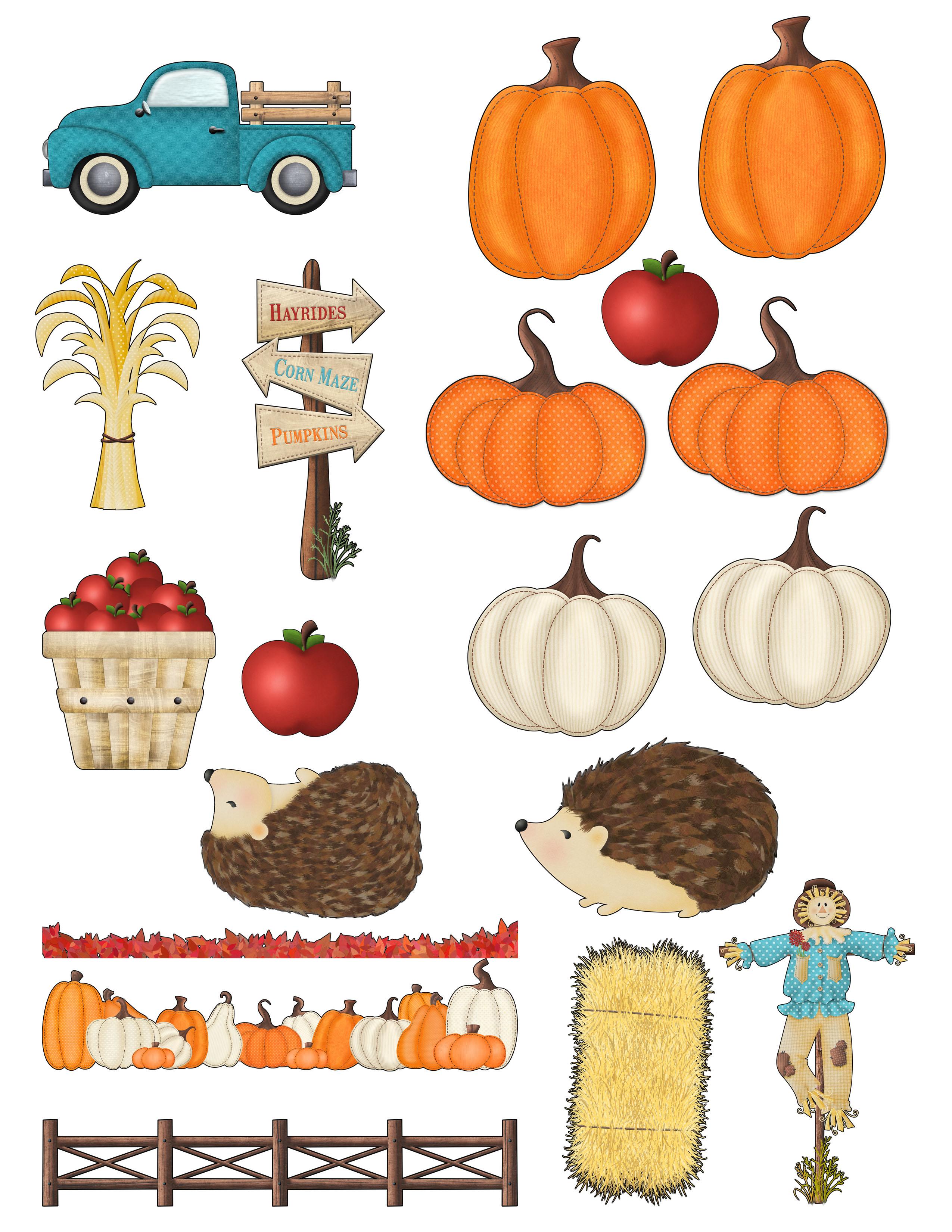 SFL Ephemera Pumpkin Patches and Harvest Wishes