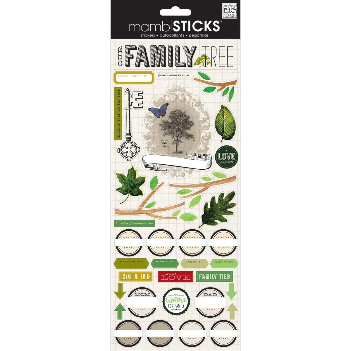Mambi Family Stickers