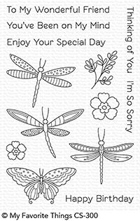 My Favorite Things Clear Stamps Fluttering Friends