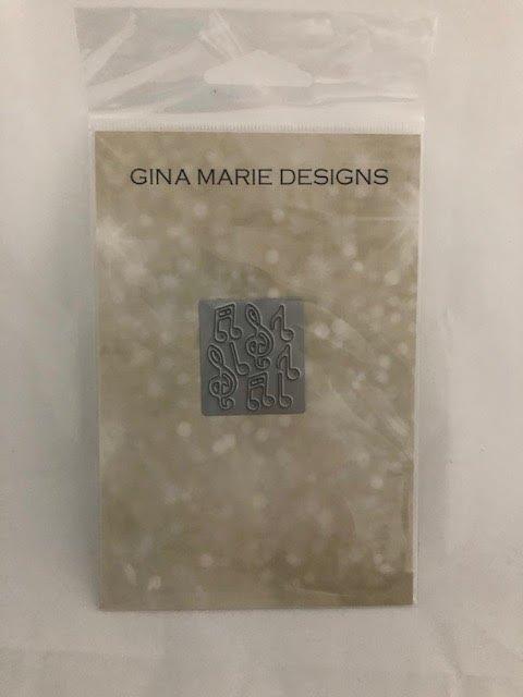 Gina Marie Designs Music Note Die