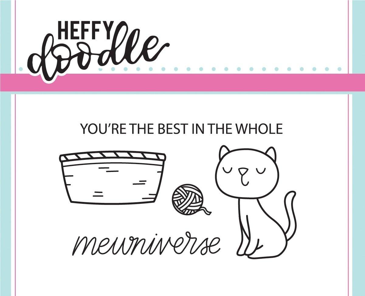 Heffy Doodle Clear Stamps Mewniverse Stamp and Die Bundle