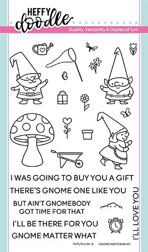 Heffy Doodle Clear Stamps Gnome Matter What
