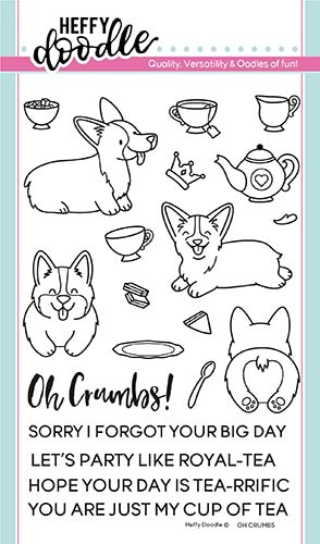 Heffy Doodle Clear Stamps Oh Crumbs