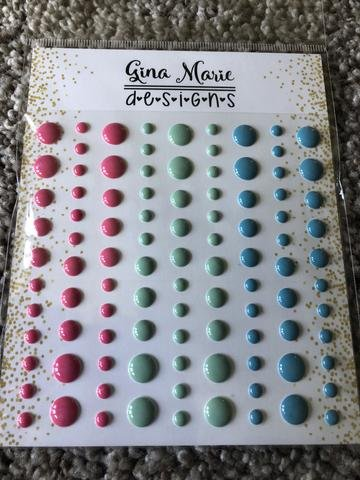 Gina Marie Designs Enamel Dots Jolly Holiday