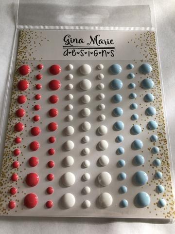 Gina Marie Designs Enamel Dots Sailboat Gloss