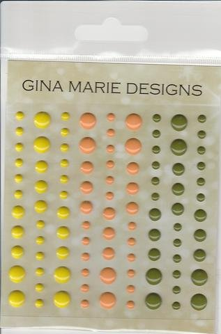 Gina Marie Designs Enamel Dots Tropical Island