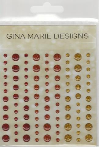 Gina Marie Designs Enamel Dots Autumn Sparkle