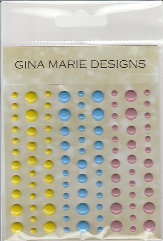 Gina Marie Designs Enamel Dots Beach Party