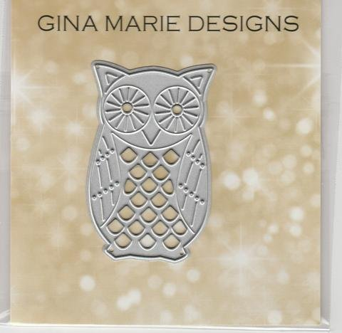 Gina Marie Dies Patterned Owl