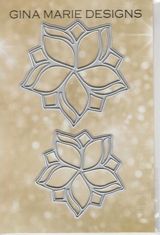 Gina Marie Designs Violet Pinwheels