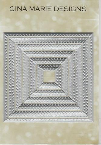 Gina Marie Designs In/Out Stitched Squares