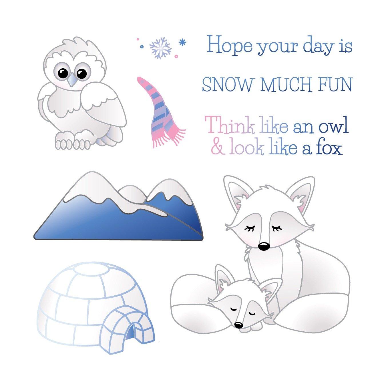 LDRS Clear Stamp Arctic Animals