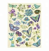 K&Company Botanical Pillow Stickers