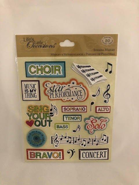 K&Company Choir Sticker Medley