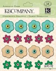 K& Company Floral Gems