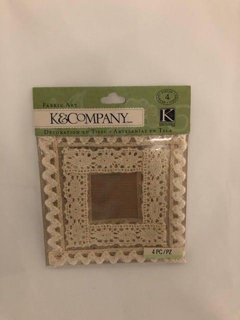 K&Company Lace Frames