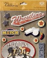 K&Company Wrestling Sticker Medley