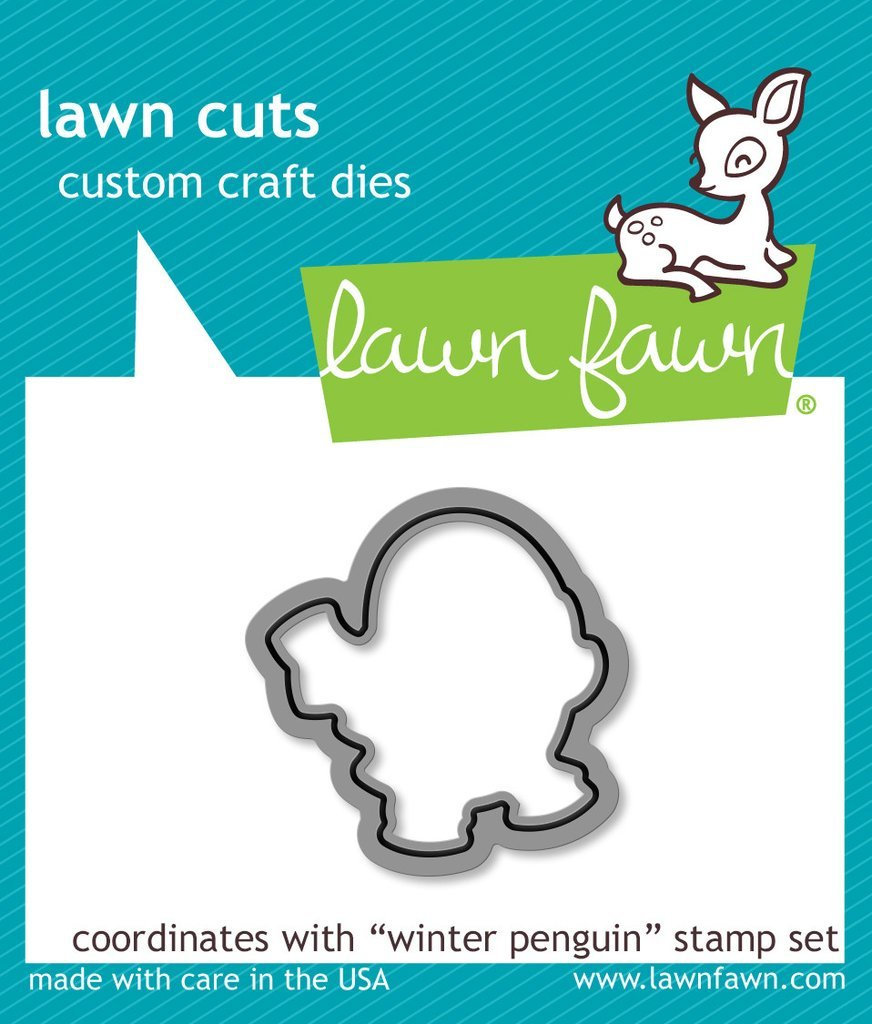 Lawn Cuts Custom Craft Die - Winter Penguin