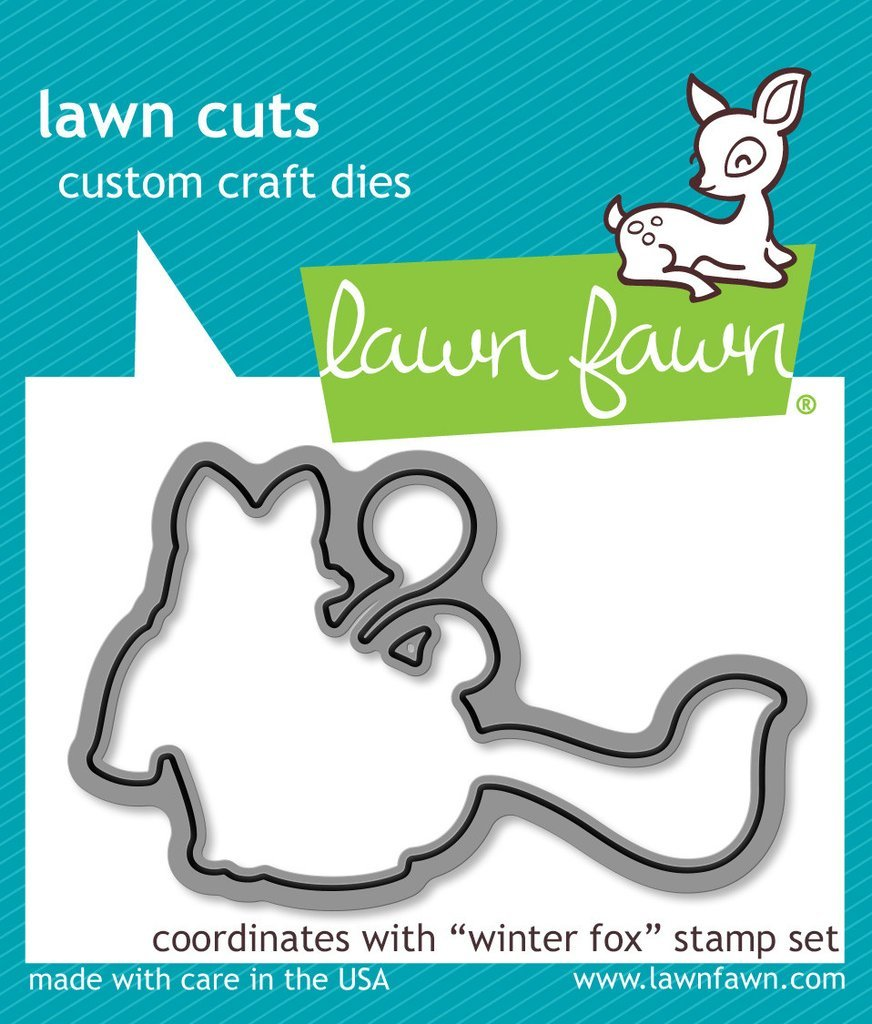 Lawn Fawn Stamp and Die Bundle - Winter Fox
