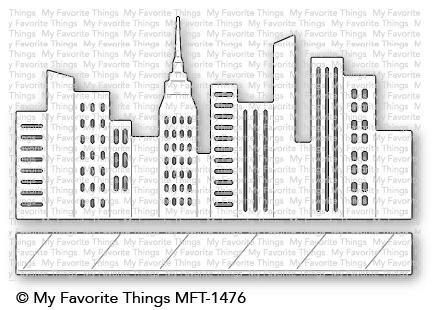 My Favorite Things Die-Namics City Block