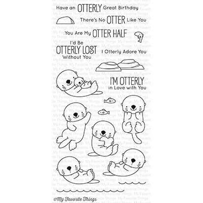 My Favorite Things Stamp & Die Bundle BB Otterly Love You