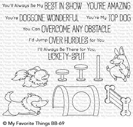 My Favorite Things Clear Stamps BB Best in Show